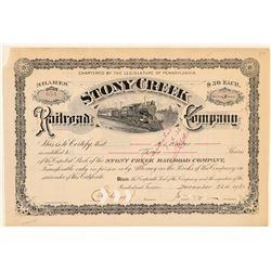 Stony Creek Rail Road Co.  #105553