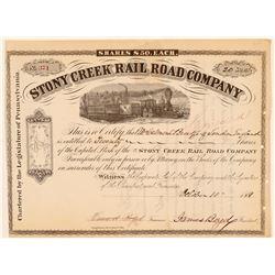 Stony Creek Rail Road Co.  #105552