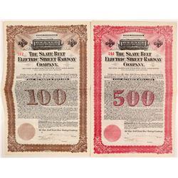 The Slate Belt Electric Street Railway Co. (2)  #106069