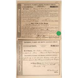 Providence, Warren & Bristol Railroad Co.  #108643