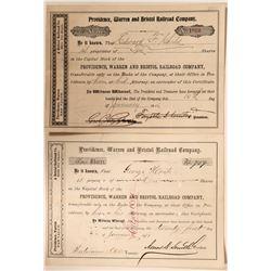 Providence, Warren & Bristol Railroad Co.  #108644