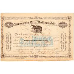 Memphis City Railroad Co  #101393