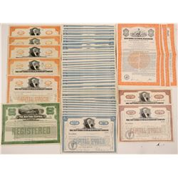 New York Central Railroad Co stocks & bonds  #105174
