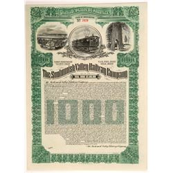 Snohomish Valley Railroad - Unissued Bond  #106433