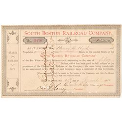 South Boston Railroad Co.  #106049