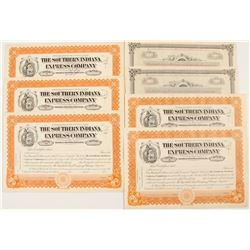 Southern Indiana Railway Company Stock Certificates  #81066