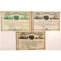 St. Paul & Duluth Railroad Co. stock  #106303
