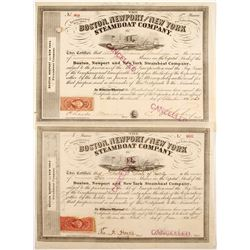 Boston, Newport and New York Steamboat Co  #86579
