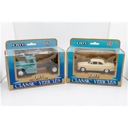 1949 Couple 1:43 and 1960 Chevy Cab 1:43 Ertl
