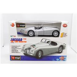 1948 Jaguar XK 120 Roadster 1:24 metal kit