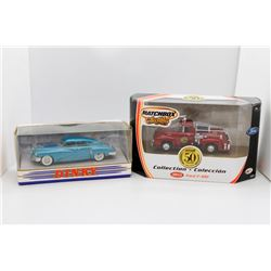 1948 Tucker Torpedo Dinky and 1953 Ford F-100 Matchbox collectibles