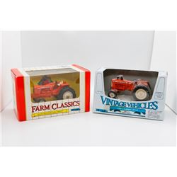 Allis Chalmers Two-Twenty 1:43 Ertl and Allis Chalmers D-19 1:43 Ertl