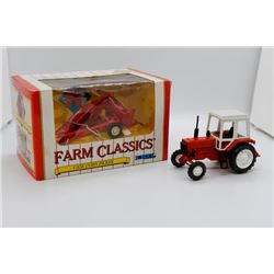Belarus 1:43 and Case corn picker 1:43 Ertl