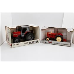 Massey Ferguson 3050 1:32 Ertl and David Brown 990 Implematic 1:32 Ertl