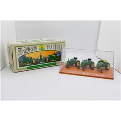 John Deere 50, 520 & 530 1:64 Collector's Series Set No. 3