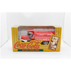 Coca-Cola die cast metal bank