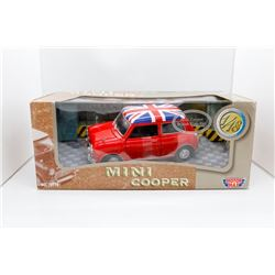 Mini Cooper British Flag-Red 1:18 MotorMax