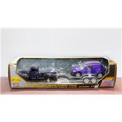 1941 Plymouth truck w/ Chrysler Panel Crusier 1:24 MotorMax