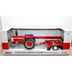 International Harvester 666 Hydro w/ Disk 1:16 Ertl BRAND NEW