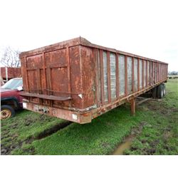 ARROW SPB2240ST FLATBED TRAILER; VIN/SN:196228 --T/A, 40' LENGTH, SIDES AND TAILGATE  (BILL OF SALE