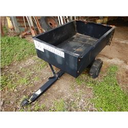 LAWN TENDER STEEL DUMP CART --S/A, 3' LENGTH, TAILGATE