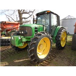 2012 JOHN DEERE 6430 FARM TRACTOR; VIN/SN:700728 --MFWD, (3) REMOTES, CAB, A/C, 2,966 HOURS