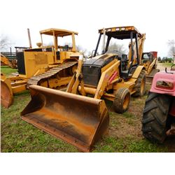 2005 CAT 416D LOADER BACKHOE; VIN/SN:BFP14886 --BUCKET, CANOPY, 4,162 HOURS