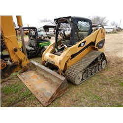 2008 CAT 277C SKID STEER LOADER; VIN/SN:JWF01648 --CRAWLER, BUCKET, CANOPY, 4,087 HOURS