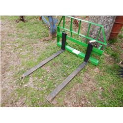 FRONTIER FORKS (UNUSED) --FITS FRONT LOADER ATTACH