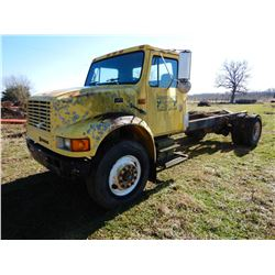 1995 INTERNATIONAL 4900 CAB & CHASSIS TRUCK; VIN/SN:1HTSDAAN5SH596744 --S/A, INTERNATIONAL DT466 ENG