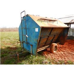 BLUE MULE FEED TROUGH --TOWABLE