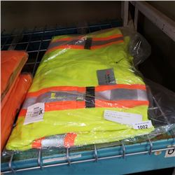 NEW CONDOR HI-VIS FLEECE JACKET SIZE LARGE