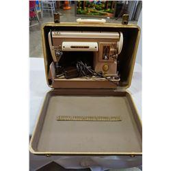 VINTAGE SINGER IN CASE 301A SEWING MACHINE