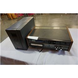 APC POWER BACK UP XS1300 AND AKAI 8 TRACK STEREO