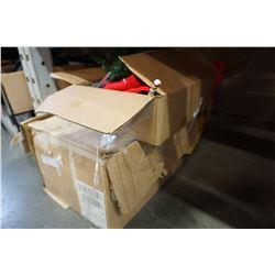3 BOXES OF XMAS DECOR