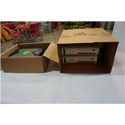 XBOX CONSOLE AND 2 XBOX 360 CONSOLES