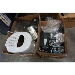 BOX OF KITCHEN APPLIANCES W/ BREVILLE ETC