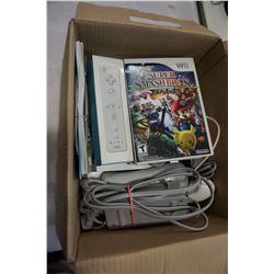 WII CONSOLE W/ GAMES
