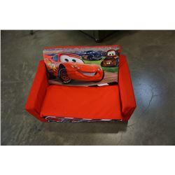SMALL CARS KIDS FOAM SOFA BED