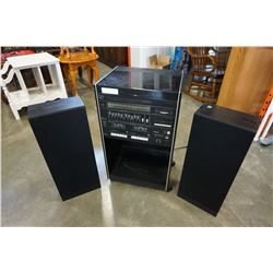 LLOYDS TURNTABLE STEREO AND MATCHING SPEAKERS MODEL 28363