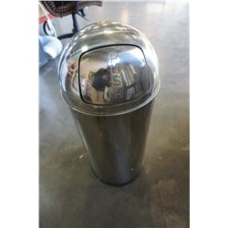 STAINLESS GARBAGE CAN