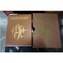 NORTHROP AERONAUTICAL HISTORY BOOK SIGNED