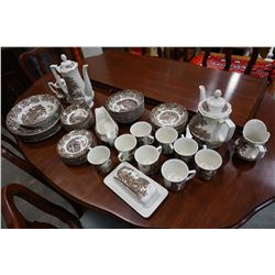 MEAKIN IRON STONE ROMANTIC ENGLAND DINNER SET