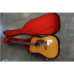 ROKKOMANN FJ-1 ACCOUSTIC GUITAR IN CASE