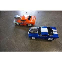 LOT OF 2 FUN LINE DIECAST CARS