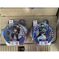 TJ OSHIE AND PATRICK KANE USA WORLD CUP DRAGON IMPORTS 6 INCH FIGURES