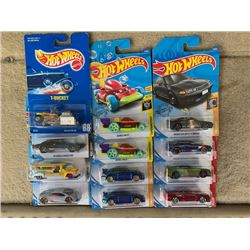 LOT OF HOT WHEELS CARS, HARD TO FIND AND TREASURE HUNT CARS