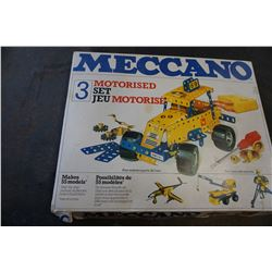 VINTAGE MECANNO MOTORISED SET 3