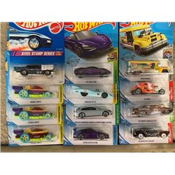 LOT OF HOT WHEELS, RARE CARS AND TREASURE HUNTS