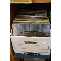 BOX OF RECORDS, BON JOVI, MICHAEL JACKSON ETC